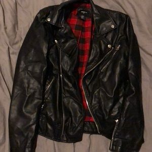 F21 Faux Leather Jacket